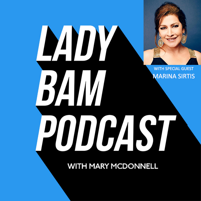 Lady Bam Podcast with Mary McDonnell – Episode 12 – Marina Sirtis